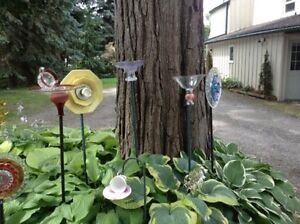 Glass flowers Stratford Kitchener Area image 5