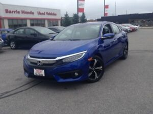 2018 Honda Civic Touring NAVI, SUNROOF, ALLOY WHEELS!!!