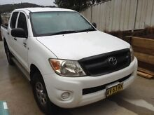 2008 Hilux Toyota dual cab ute 4X4 Forster Great Lakes Area Preview