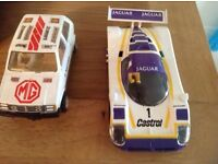 TWO SCALEXTRIC SCATRIX CARS -