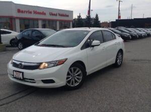 2012 Honda Civic EX-L A/C, FUEL SAVER,