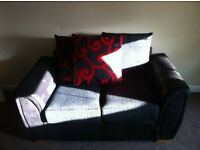 3 and 2 seater sofa's excellent condition