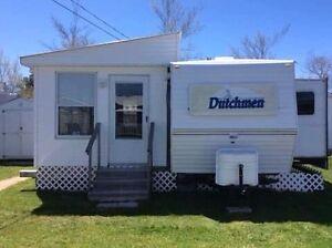 36' Dutchman travel trailer
