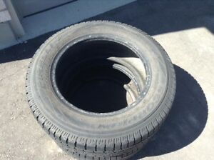 Two Pirelli Scorpion Ice&Snow 215 65 R16 tires