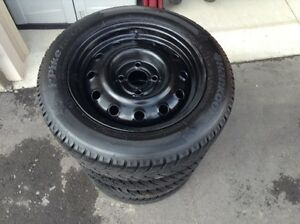 175 65 R14 Hankook 4 winter tires with rims
