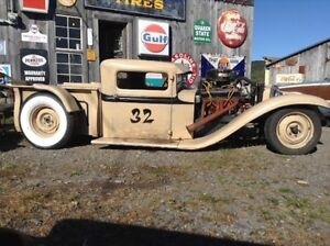 Custom built 1932 Ford rat rod