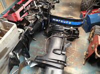 40 hp Mercury outboard boat engines x2