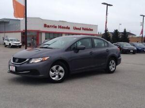 2014 Honda Civic LX A/C, FUEL SAVER,