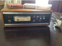 8 track cassette player 1970's TOMBOY model £40 ono