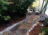Landscaping services. Patios, retaining walls, pathways and more