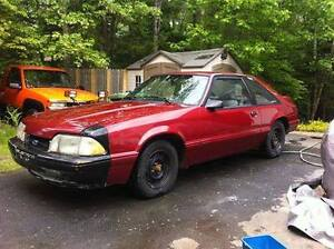 1988 Mustang project