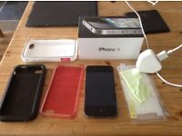 iPhone 4 black 8gb locked to Tesco with extras MUST BE SEEN