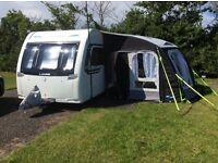 Lunar Lexon Ultima 2015 Caravan Special Edition 4 Berth Fixed Bed