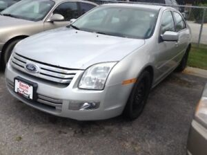 2009 Ford Fusion SEL As Is, 4 Door