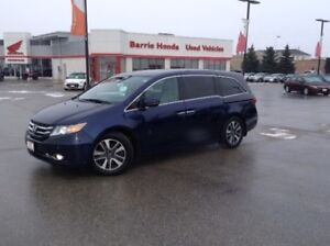 2016 Honda Odyssey Touring NAVIGATION, REAR DVD ENTERTAINMENT...