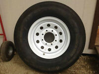 New 16 inch Trailer Tire/Wheel