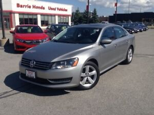 2012 Volkswagen Passat 2.5L Comfortline SUNROOF, HEATED SEATS