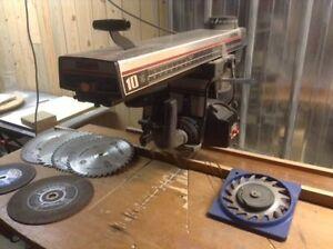Scie radiale Craftsman 10 pouces