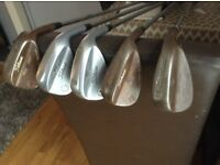Titleist wedges and Cleveland wedge