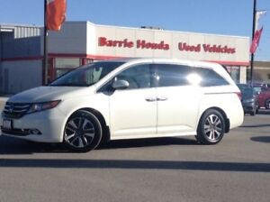 2015 Honda Odyssey Touring LEATHER,SUNROOF,BLUETOOTH,BACKUP C...