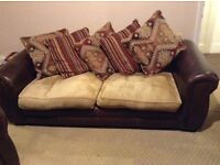 4 seat sofa and snuggle chair