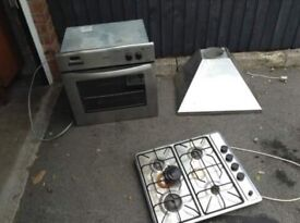 STOVES STEEL OVEN , HOB AND FAN *** FREE DELIVERY IS AVAILABLE TONIGHT ***