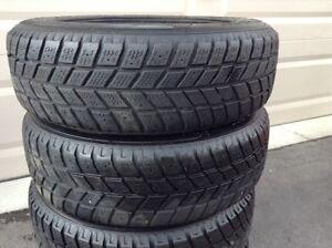 175 65 R14 Hankook 4 winter tires with rims London Ontario image 4