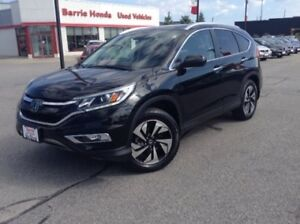 2015 Honda CR-V Touring SUNROOF, HEATED SEATS