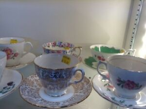 China Teacups and Saucers Fonthill restore