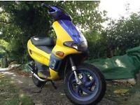 Gilera runner 50 cc 50cc moped ped scooter MOT LOGBOOK piaggio