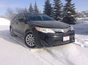 2012 Toyota Camry LE BLUETOOTH, ALL WEATHER MATS, TOUCHSCREEN