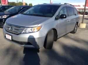 2012 Honda Odyssey EX-L Rear Facing DVD Player, Bluetooth, Su...