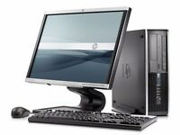 WINDOWS 7 FULL DELL COMPUTER DESKTOP TOWER SET PC WIFI BARGAIN WARRANTY IN STORE