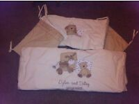 NEXT unisex cot bedding etc...