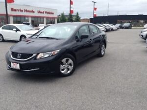 2014 Honda Civic LX A/C, FUEL SAVER,