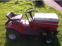 MTD lawnflite ride on lawn mower