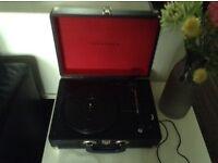 Grausch vinyl record player