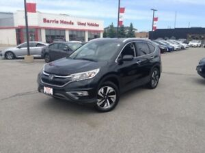 2015 Honda CR-V Touring Bluetooth, Sunroof, Heated Seats, Bac...