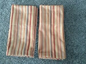 Curtain valance set