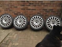 ford Mondeo St 220 wheels