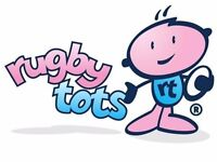 Rugbytots classes for 2-7 year olds