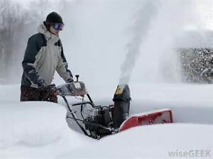 RECONDITIONED SNOWBLOWERS SMALL TO LARGE Peterborough Peterborough Area image 1