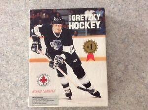 Rare jeu de Hockey Wayne Gretzky disquettes IBM 1988-1989