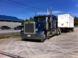 camions et remorque