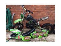 Motorbike/pitbike 125cc race tuned Stomp