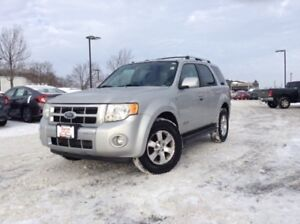 2008 Ford Escape Limited LEATHER,SUNROOF,ALLOYS