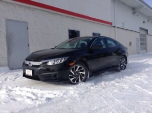 2017 Honda Civic EX SUNROOF, PUSH START, HONDA SENSING TECHNO...