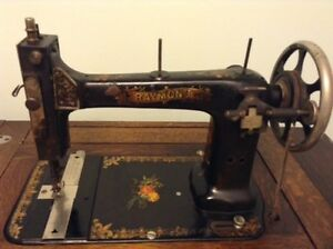 Antique Raymond Sewing Machine Kawartha Lakes Peterborough Area image 3
