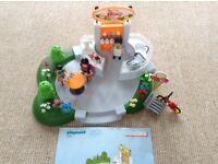 Playmobil ice cream parlour toys