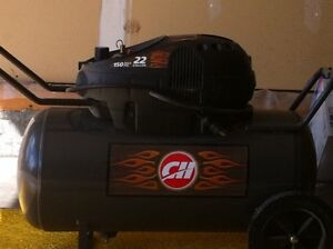 22 Gal Air Compressor with Air Tools